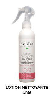 KHARA LOTION NETTOYANTE Chat et chaton