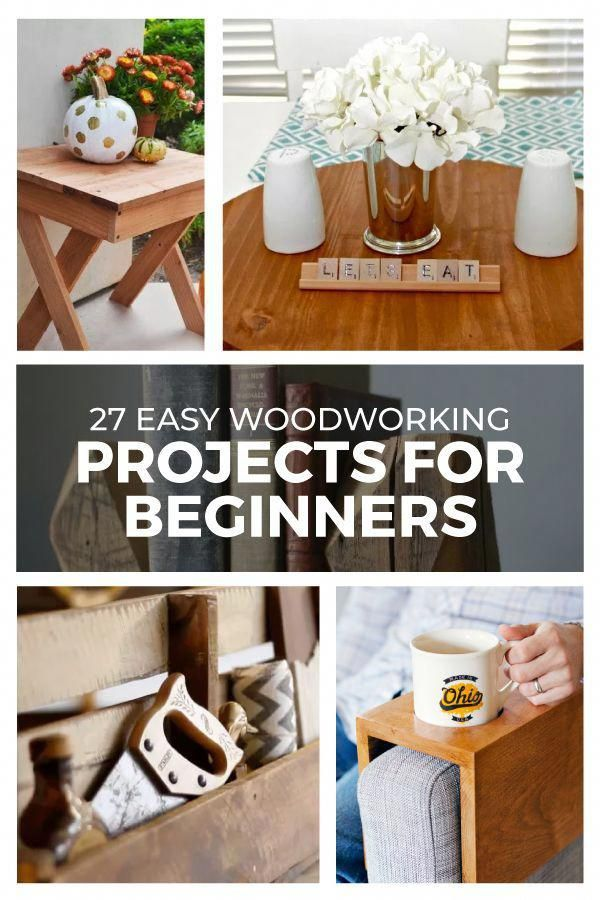 27 Easy Woodworking Projects For Beginners Woodworkingproject