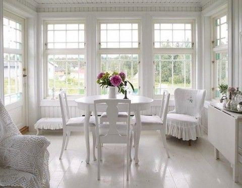 blanc salle à manger