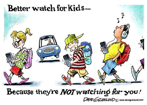 back to school watch for school kids cartoons