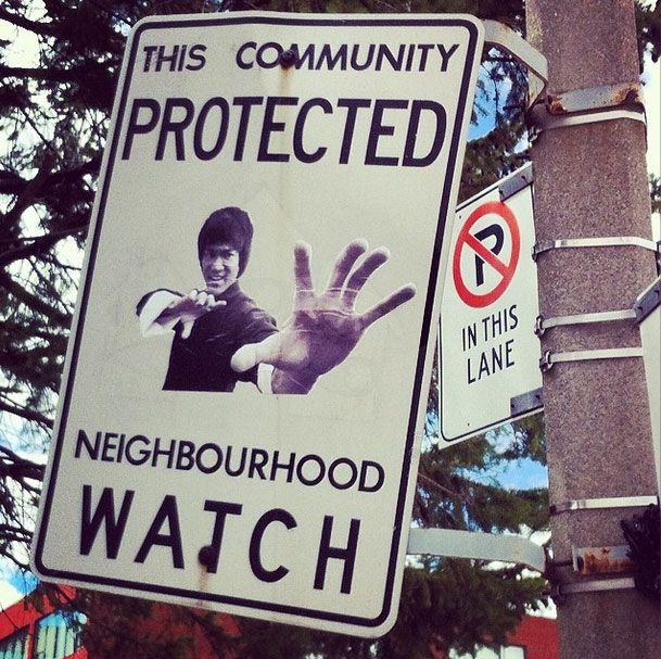 Neighbourhood Watch Street Art Stickers
