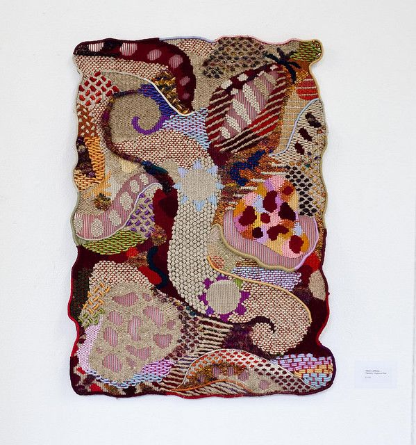 Amazing tapestry weaving from William Jefferies - teaches at Morley College, London