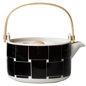 Marimekko's Oiva - Basket teapot, 7 dl