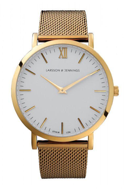 Larsson & Jennings watch, $350, shopBAZAAR.com.