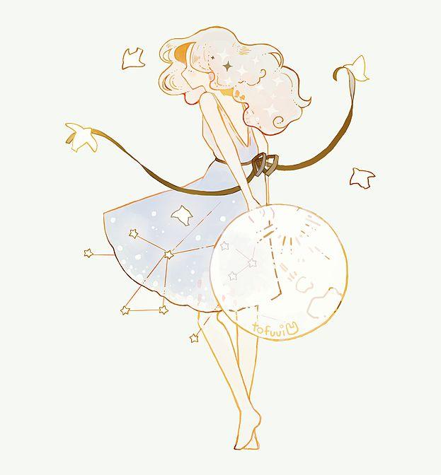 tofuvi doodles — spring moon. Tumblr