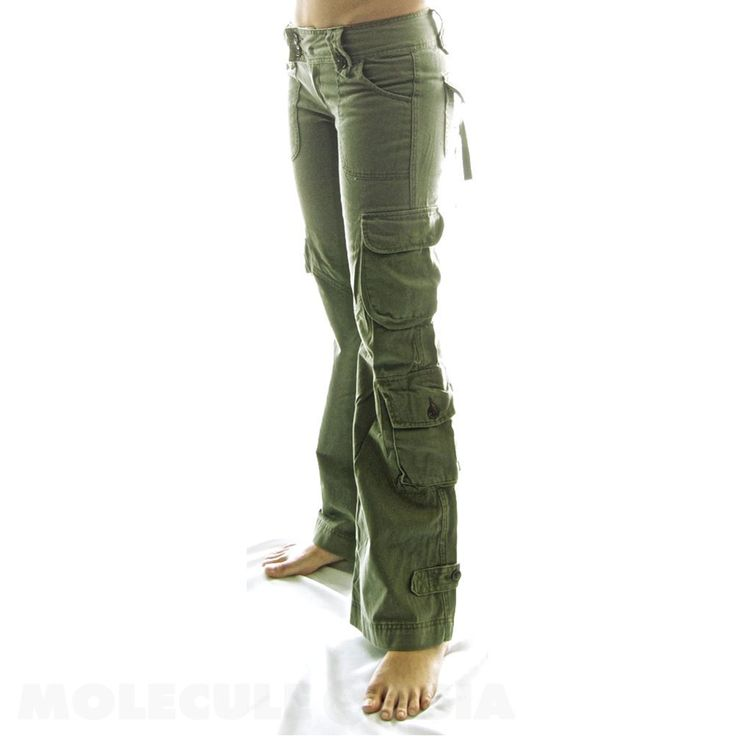Popular Womens White Cargo Pants  Pi Pants