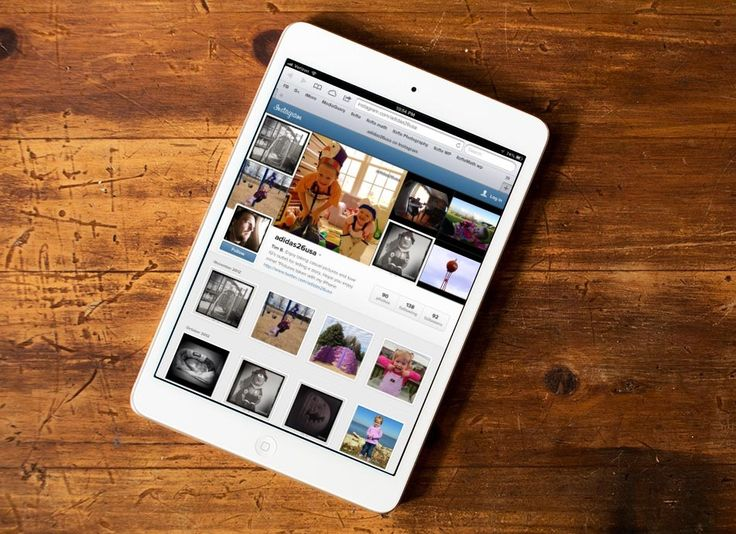 Instagram out on web profiles