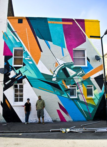 Remi Rough & Augustine Kofie in East Dulwich, London. Photo by Strictly Kev