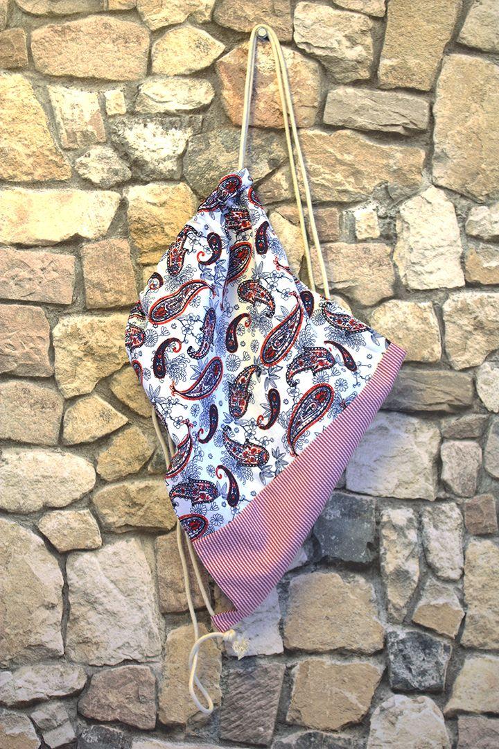 sırt çantası bez sırt çantası desenli sırt çantası hand made crafting quality