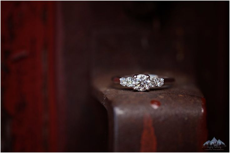Engagement Ring | Rusty Door Handle | Enjoy Today Photography