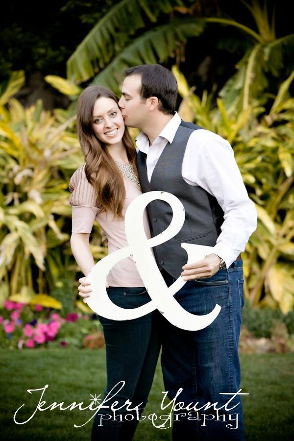 Image detail for -Ampersand Wedding Sign Save the Date Wedding Picture Props Shabby Chic ...