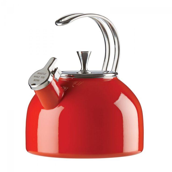 Kate Spade New York® Tea Kettle, Red | ECS Coffee Inc. #katespade #tea #kettle #gradgift
