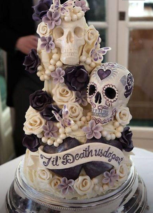 This Cake Sugar Skull Cake Sugar Skulls Pinterest