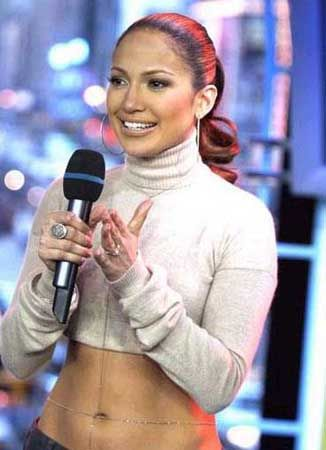Jennifer Lopez Photo: mtv trl 2002