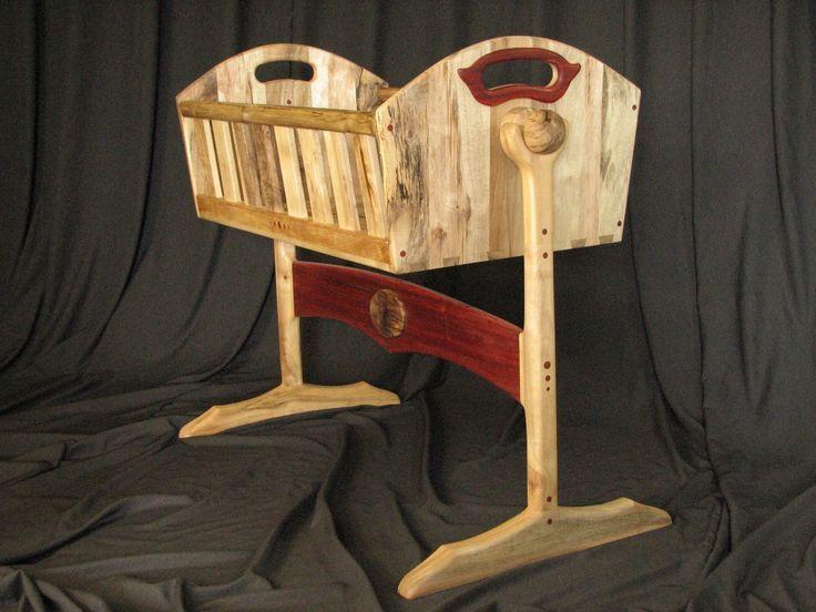 Rustic and elegant cradle