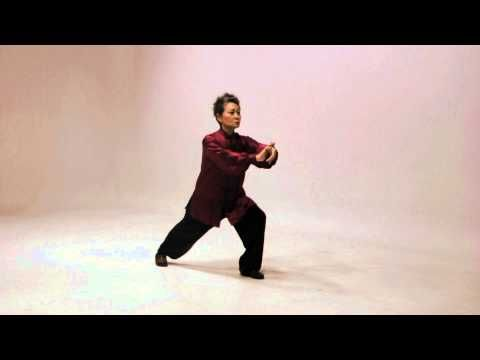 Simplified 24 Tai Chi routine - YouTube