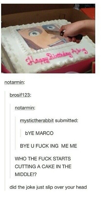 Marco...   Omfg this fandom needs help  who did this?! Why! Nooooo (´°̥̥̥̥̥̥̥̥ω°̥̥̥̥̥̥̥̥`)