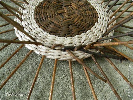 небольшой МК по плетению ажурной крышки. фото 6