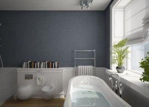 apartment interior inspired in modern style bathroom design
