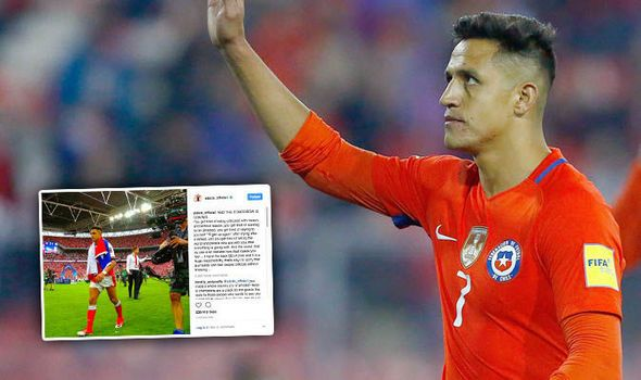 Alexis Sanchez hits out on Instagram after Chile loss and some Arsenal fans are not happy   via Arsenal FC - Latest news gossip and videos http://ift.tt/2f35cSj  Arsenal FC - Latest news gossip and videos IFTTT