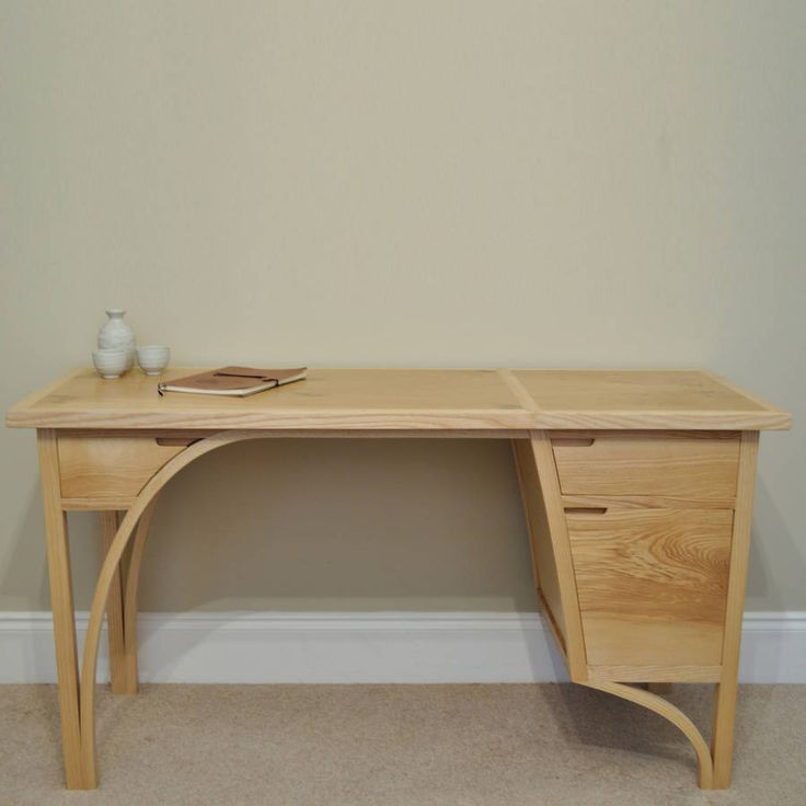 Quite possibly the most beautiful desk ever... Balance Desk by John Whitfield Bespoke Furniture