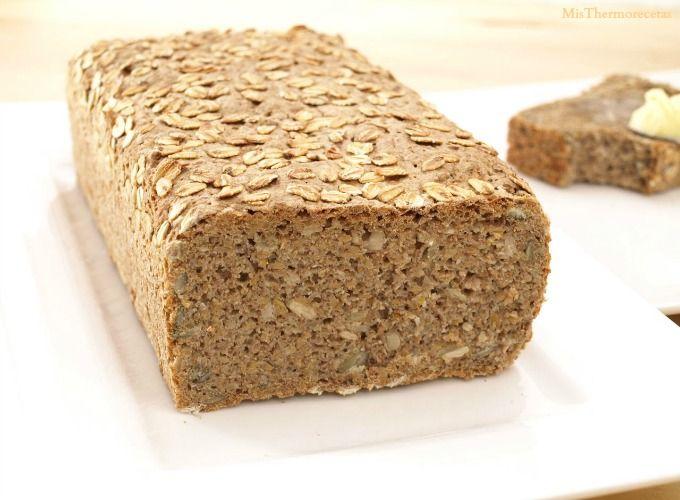 Pan de espelta y trigo sarraceno - MisThermorecetas.com