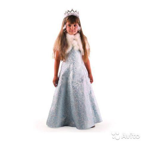 Карнавальный костюм снегурочка жемчужная