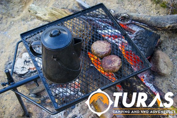 Everything tastes better when eaten outside, and even better again when cooked outside.  A very easy to cook camping staple is the old reliable hamburger…  	Based our extensive research (