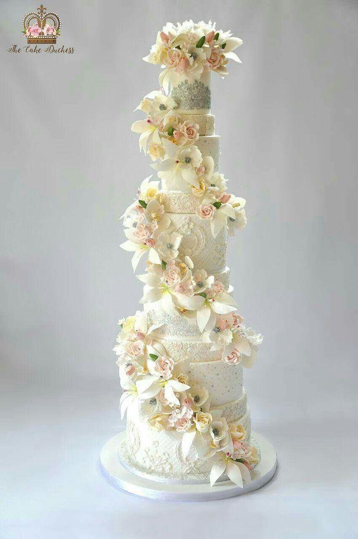 285 best My Creations images on Pinterest   Cake wedding, Weddings ...