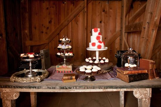 dessert table vintage silver eclectic - Google Search