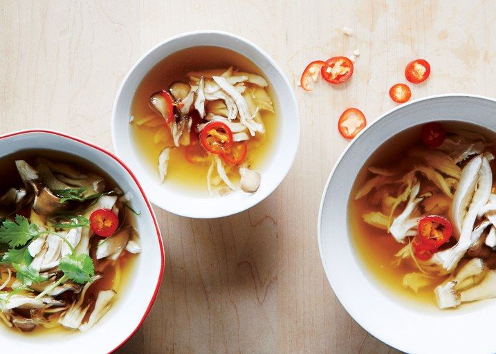 Soups for cold weather and downtime between endless holiday parties and cookies.