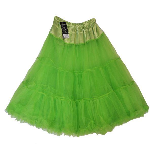 Granny Smith Apple Green Petticoat For Under The Poppy