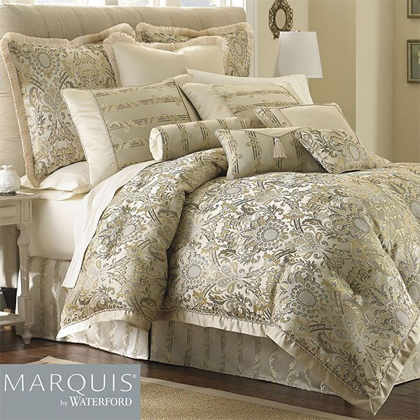 Fairfield Scroll Comforter Bedding From Marquis R By Waterford