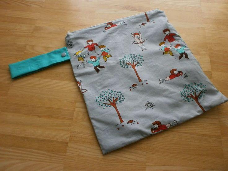 Wetbag, Wäschebeutel, Kindergarten - Kinder, Beutel, Tasche,