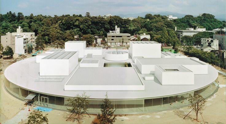The 21st Century Museum of Contemporary Art by SAANA  Kanazawa, Japan  _con...
