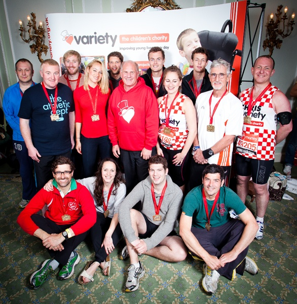 (Most of) our London Marathon Team Variety 2012