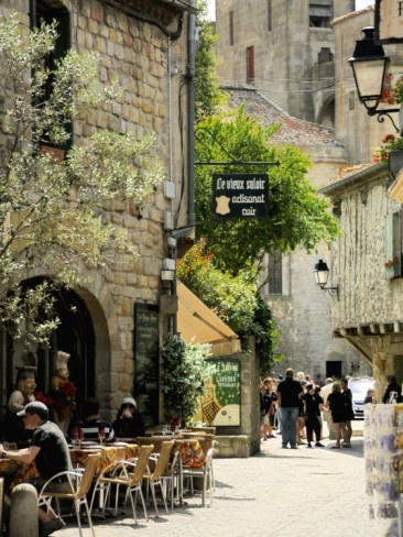 Medieval Street in Walled and Turreted Fortress of La Cite, Carcassonne, UNESCO World Heritge Site Photographic Print