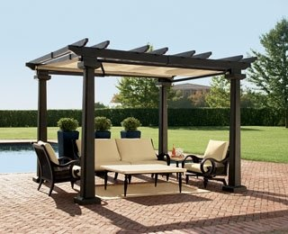 Best 25 Black Pergola Ideas On Pinterest