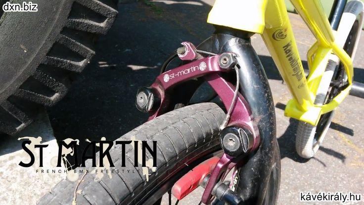 I love my lovely purple St Martin BMX Flatland brakes.