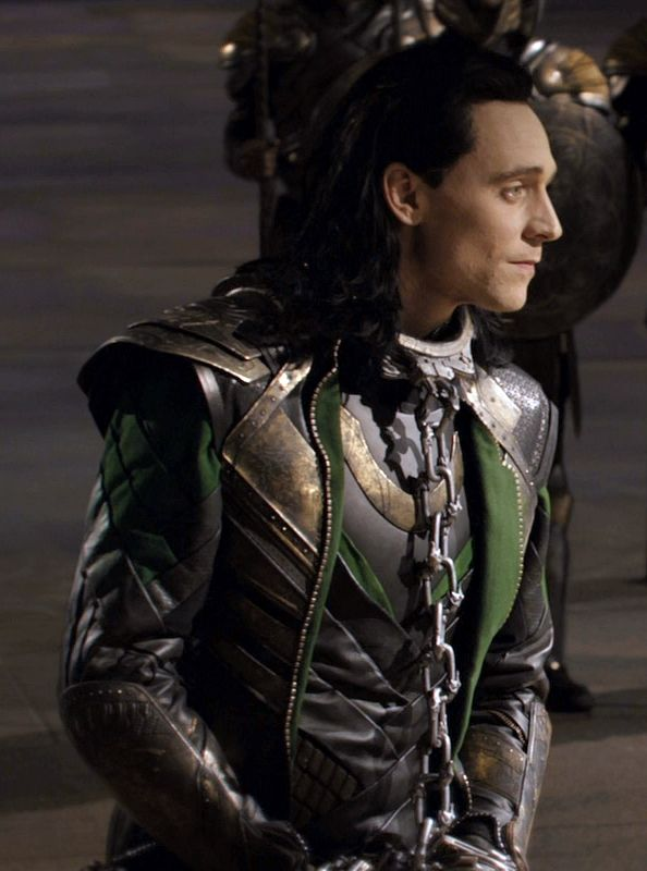 When Loki is in chains.. one cannot resist the urge to repin