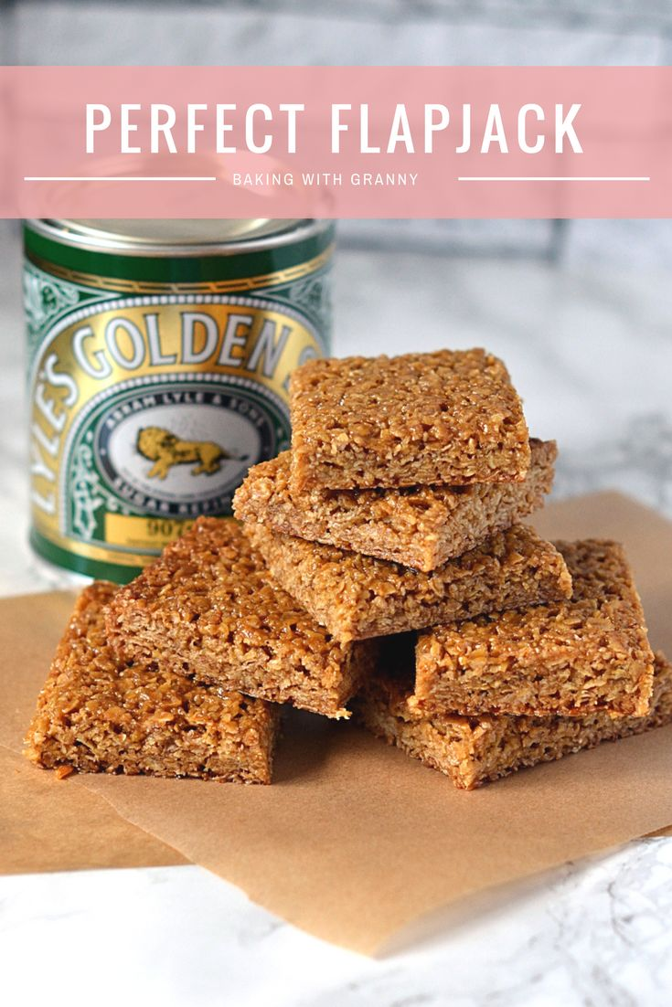 Flapjack Recipe. The perfect chewy flapjack, made with Scottish oats and golden syrup.
