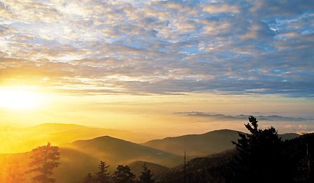 Great Smoky Mountains (Kevin Adams)....backpacking the Appalachian Trail