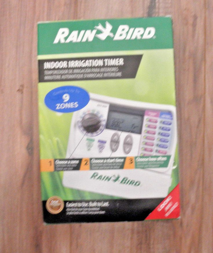 17 best ideas about irrigation timer water rain bird sst 900i simple to set 9 zone indoor irrigation timer