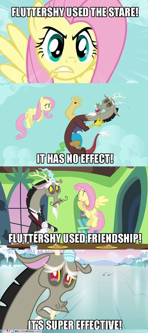 """In the real world, we have words to describe people who use relationships to manipulate and influence others. ONE OF THEM IS """"VINDICTIVE."""" (I'm calling you out, Fluttershy)"""