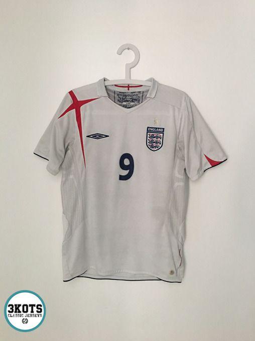 849d11017a1 WAYNE ROONEY England 2005/07 Home Football Shirt (S) Soccer Jersey UMBRO  rare #Umbro #Jerseys #Footballshirts #Soccerjerseys