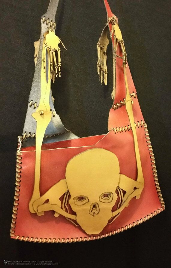Check out this item in my Etsy shop https://www.etsy.com/listing/470517850/skull-leather-bag