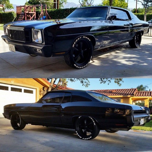 One mean '71 Monte Carlo sent in by @jct_satanico ! Give this #Hotrodsandmusclecars a double tap if you dig the blacked out look! TAG some friends and stop by our website, the link is in our profile! Follow the crew: @classicsdaily @americanmusclehd @moderndayhotrods & @forgeline