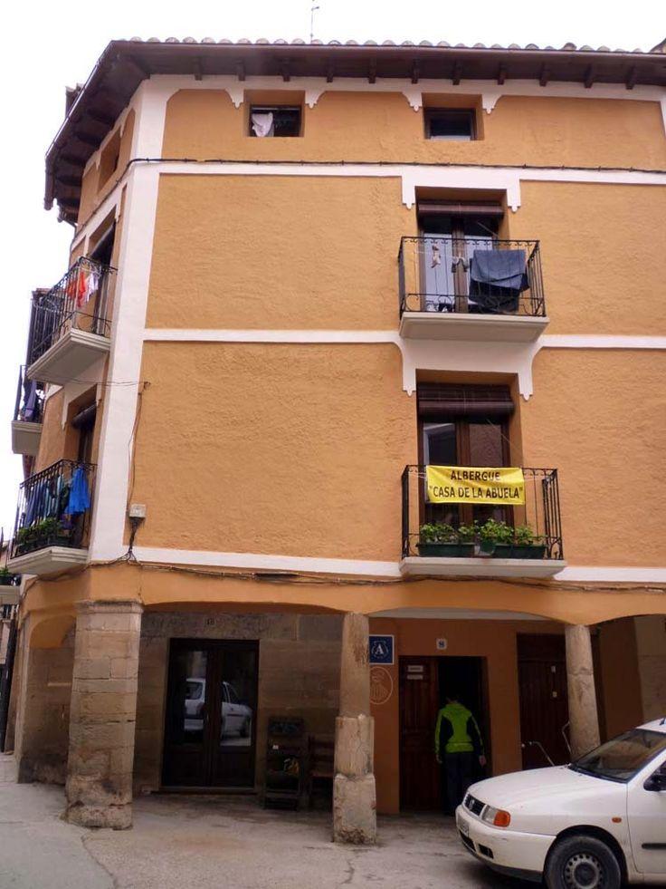 Albergue privado Casa de la abuela en Los Arcos (Navarra).