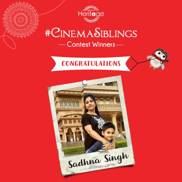 We're overwhelmed by the response we got for the contest. Well played everyone!Congratulations to both the winners of the #CinemaSiblings Contest. Keep watching this space. Because the Rakhi celebration does not end here. #SiblingSeason #RakhiContest #Winners