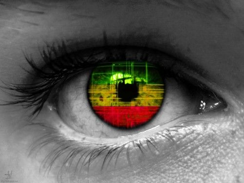 Wallpaper Colorful The Eye #242